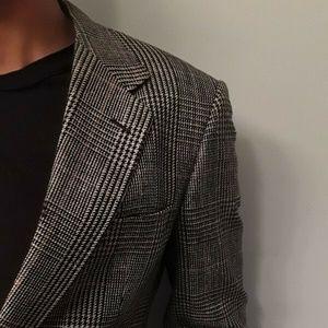 Hart Schaffner Marx Suits & Blazers - Hart Schaffner and Marx Silk Textured Grey Blazer